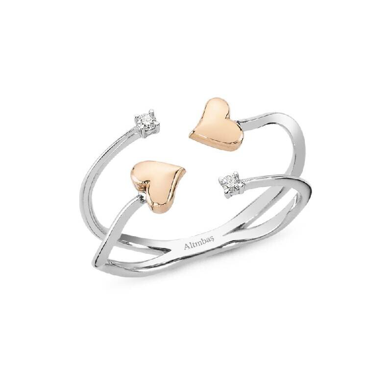 0.04 Carat Bague Diamant Promiss