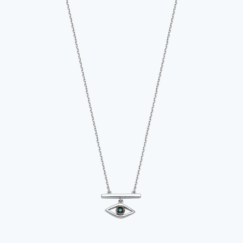 0.01 Carat All Eyes On You Diamond Necklace