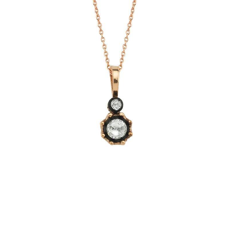 0.22 Carat Solitaire Diamond Necklace