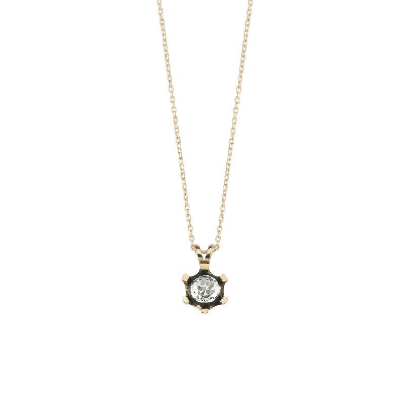 0.25 Carat Solitaire Diamond Necklace