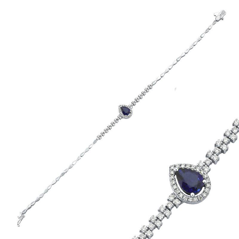 0.41 Karat Saphir Diamantarmband