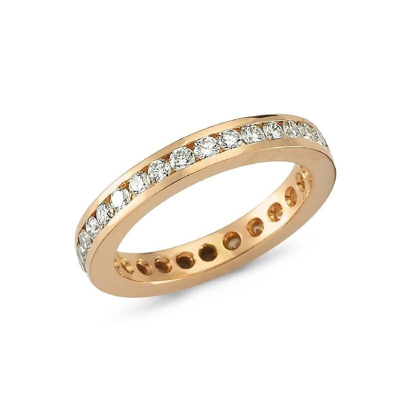 0.95 Carat Eternity Diamond Ring