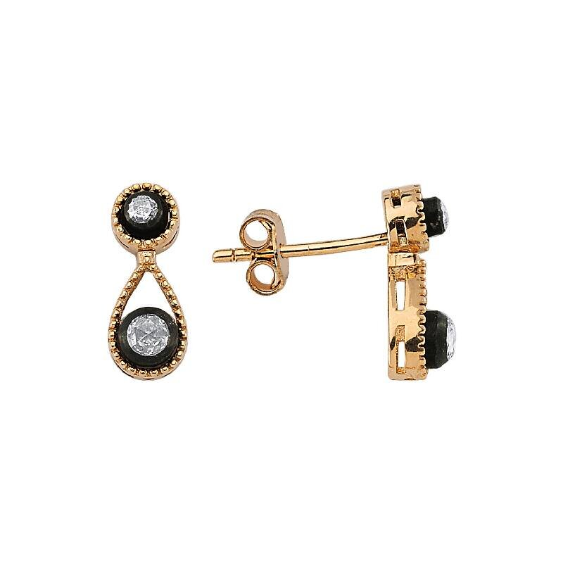 0.11 Carat Diamond Earring