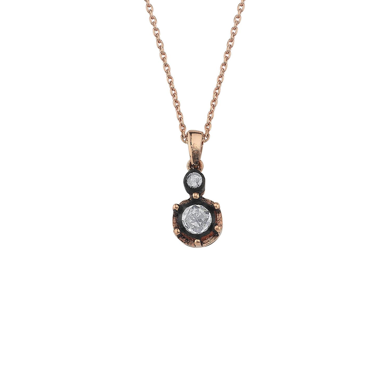 0.24 Carat Solitaire Diamond Necklace