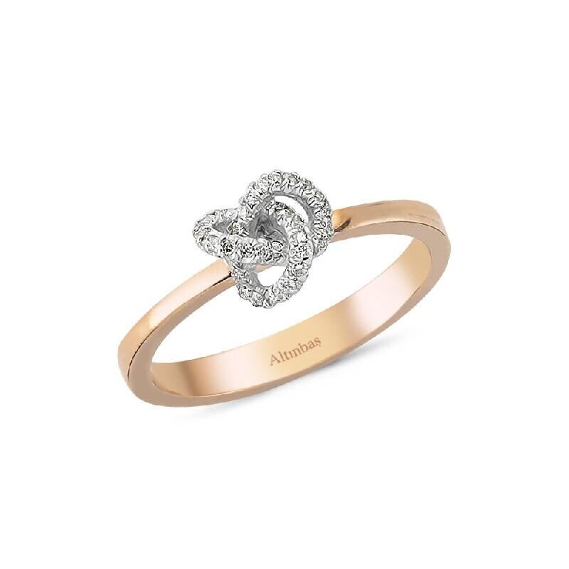 Pırlanta Düğüm Yüzük