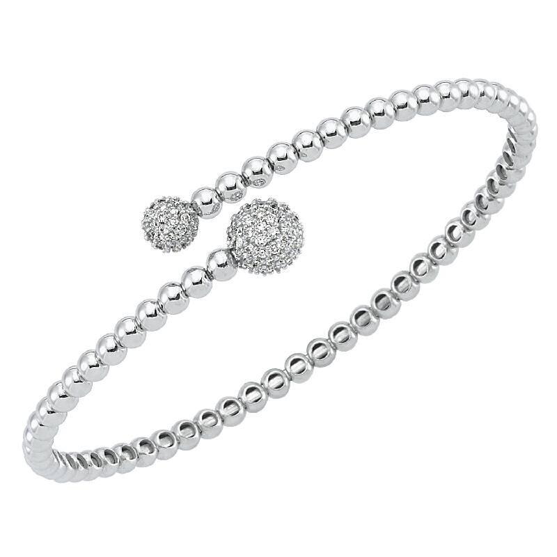 0.78 Carat Diamond Bangle