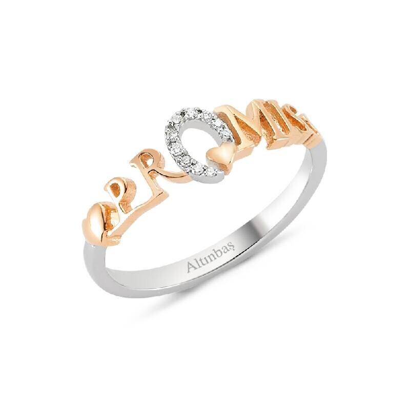 0.04 Carat Diamond Ring- Promiss