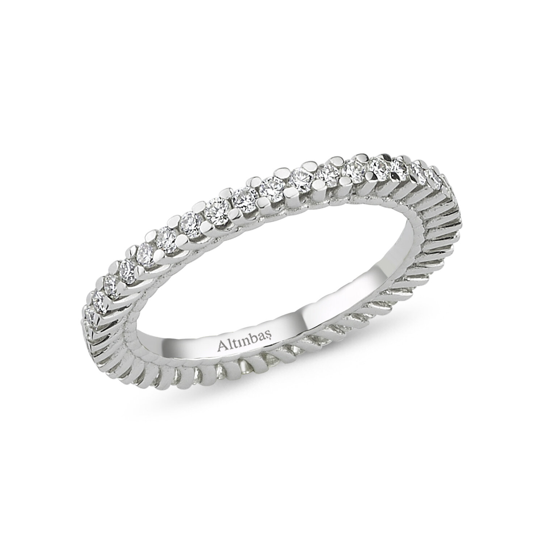 0.70 Carat Eternity Diamond Ring