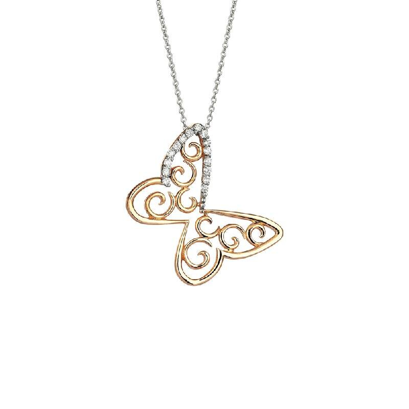 0.09 Carat Diamond Necklace- Surprise