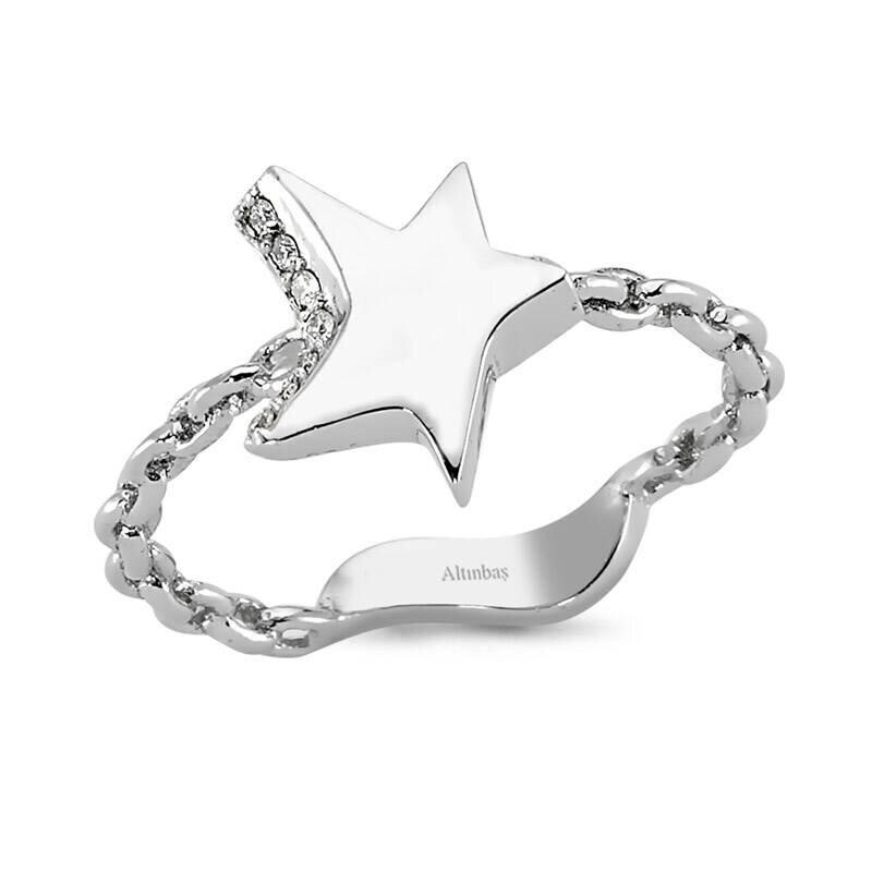 Pırlanta Charlotte Yıldız Yüzük