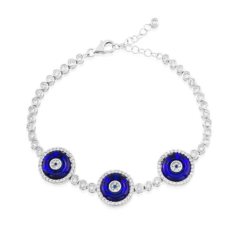 Nazar Auge Silberarmband