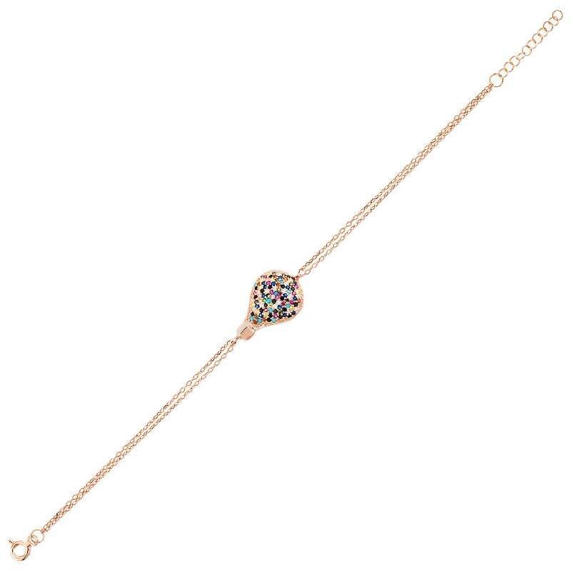 Silver Zeplin Bracelet