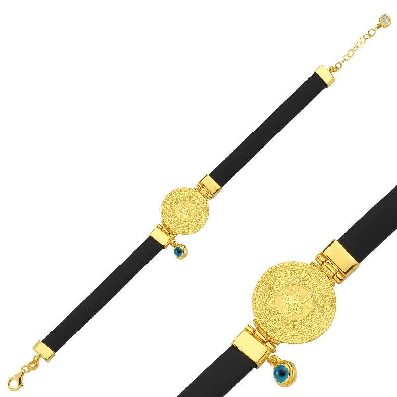 22 K Tuğra Gold Bracelet