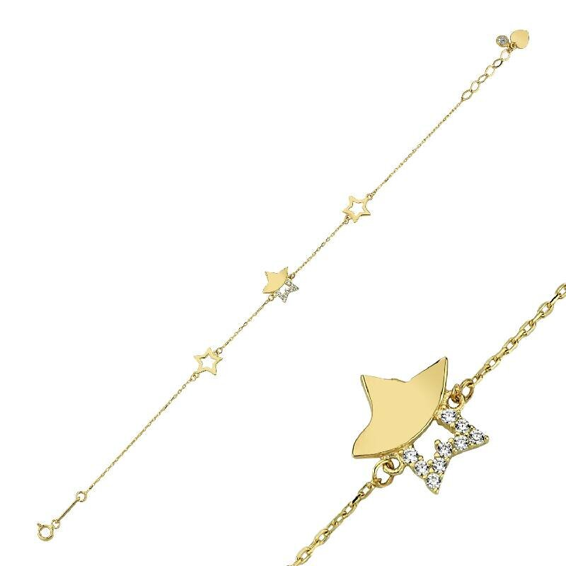 Altın Yıldız Bileklik