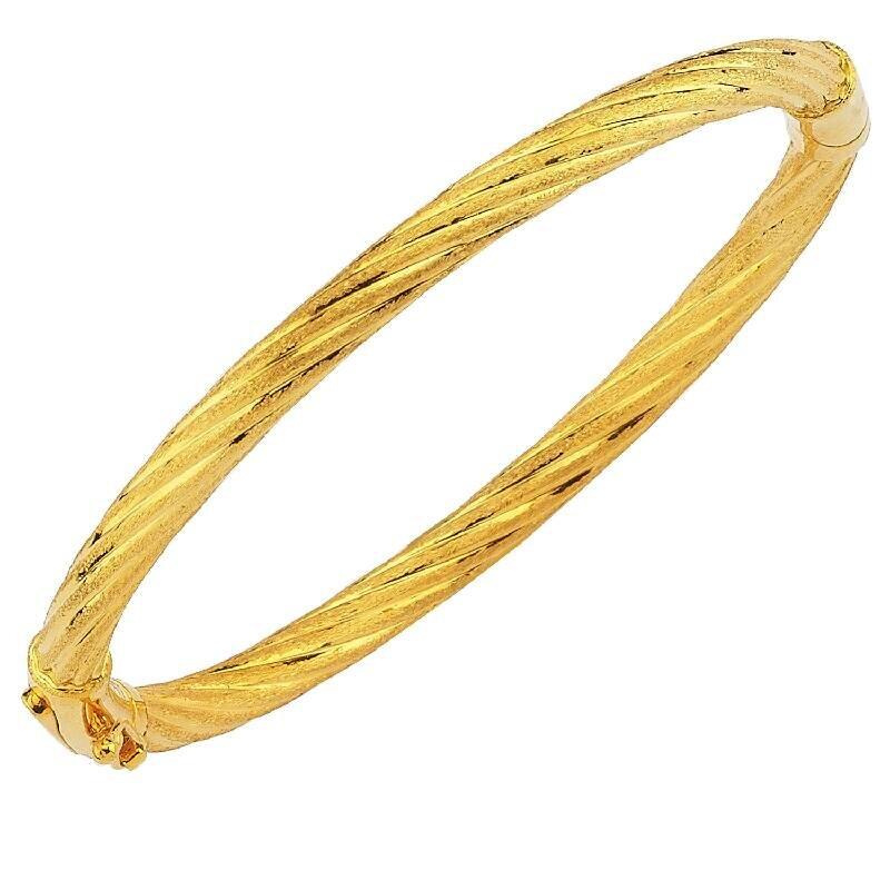 22K Gold Bangle