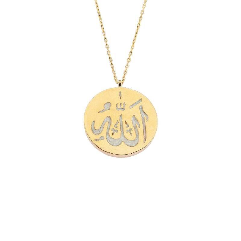 Altın Allah Kolye