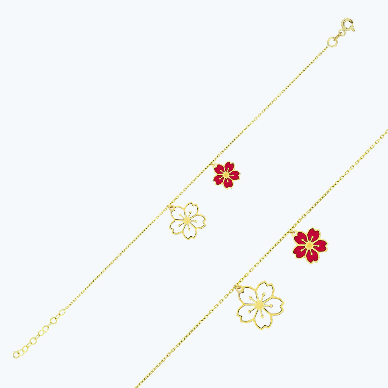 Altın Çiçek Halhal