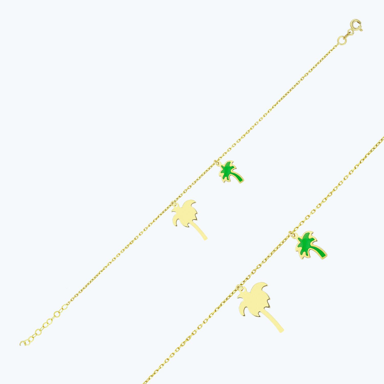 Altın Palmiye Halhal