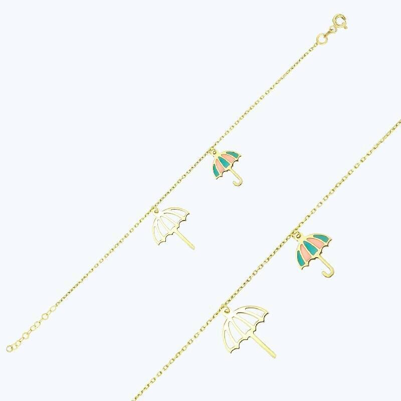 Altın Şemsiye Halhal