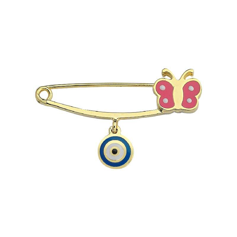 Baby Butterfly Gold Pin