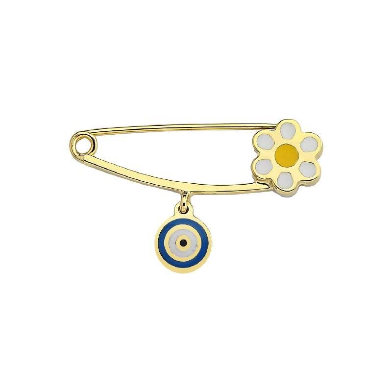 Baby Daisy Gold Pin