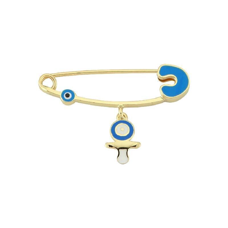 Gold Baby Pin