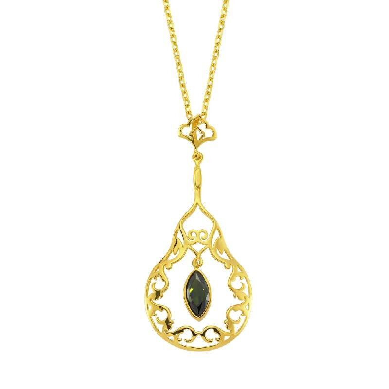 22 K Collier Or
