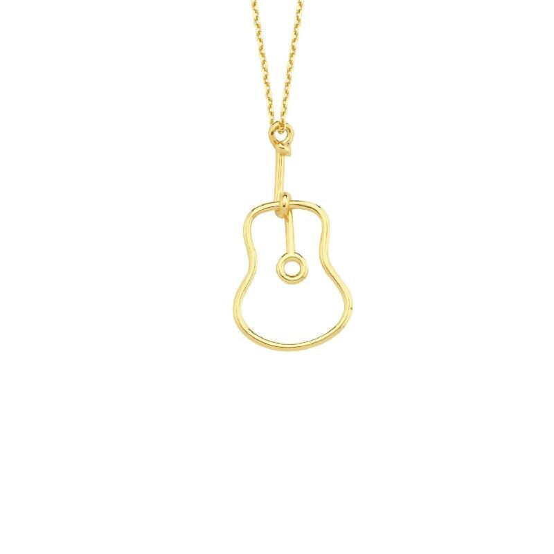 Guitar Gold Necklace