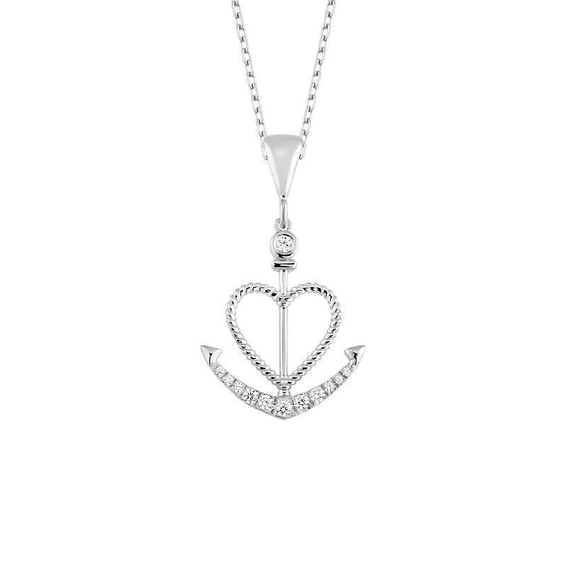 Herz Silberkette