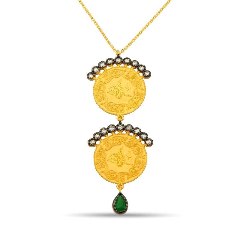 Tugra Gold Necklace