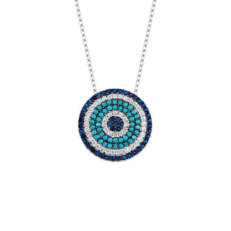 Nazar Auge Silberkette