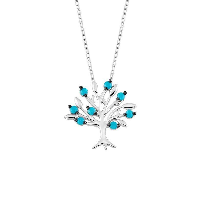 Lebensbaum Silberkette