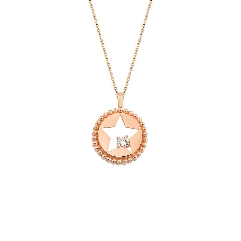 Stern Silberkette
