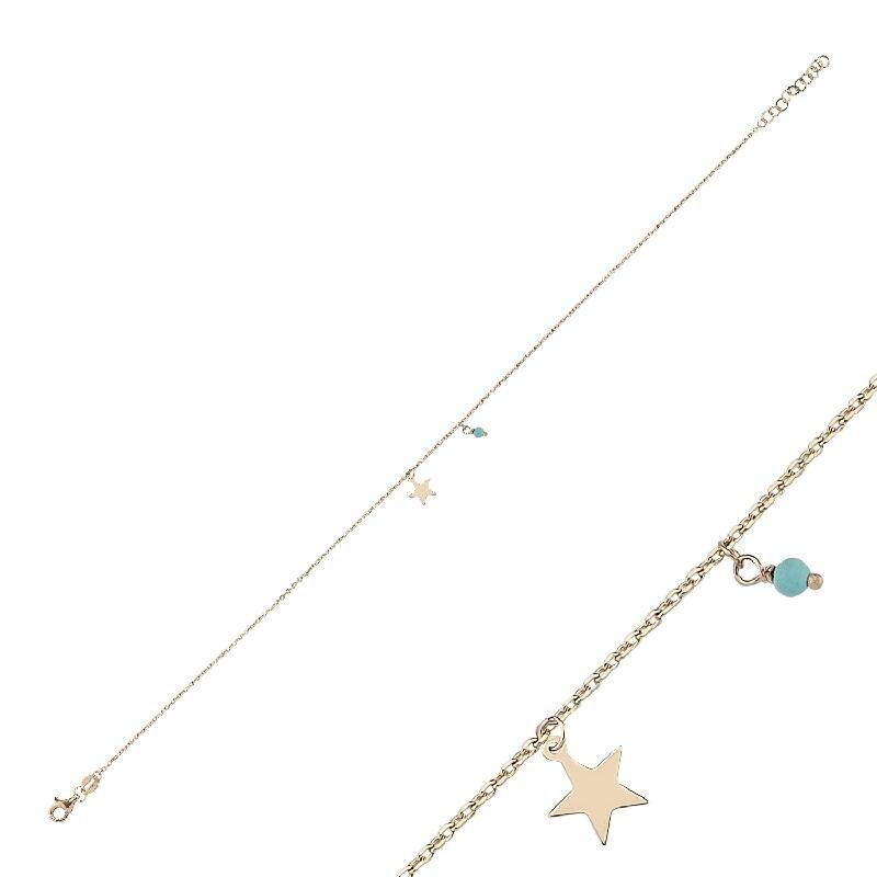 Star Gold Anklet