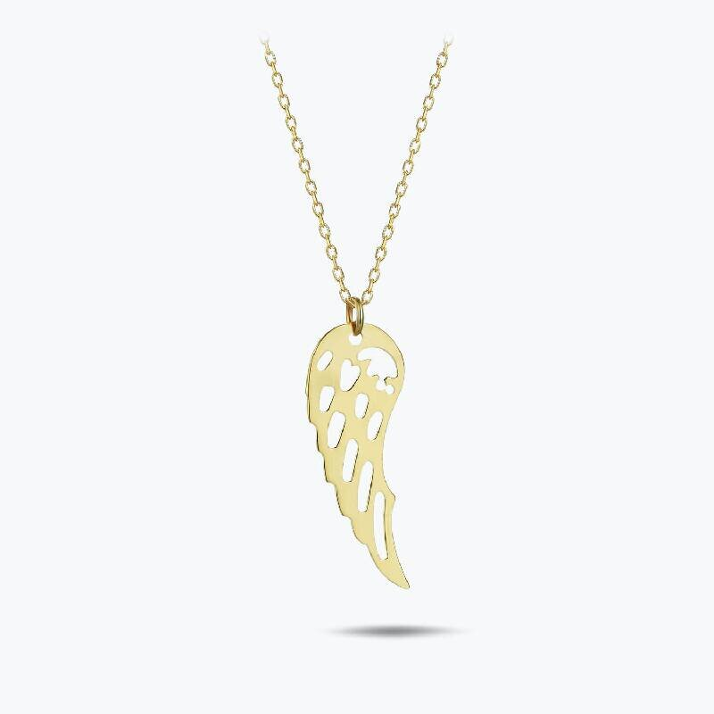 Wing Gold Necklace