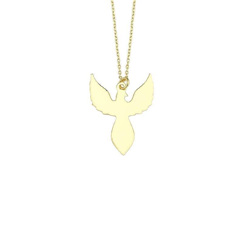 Phoenix Gold Necklace