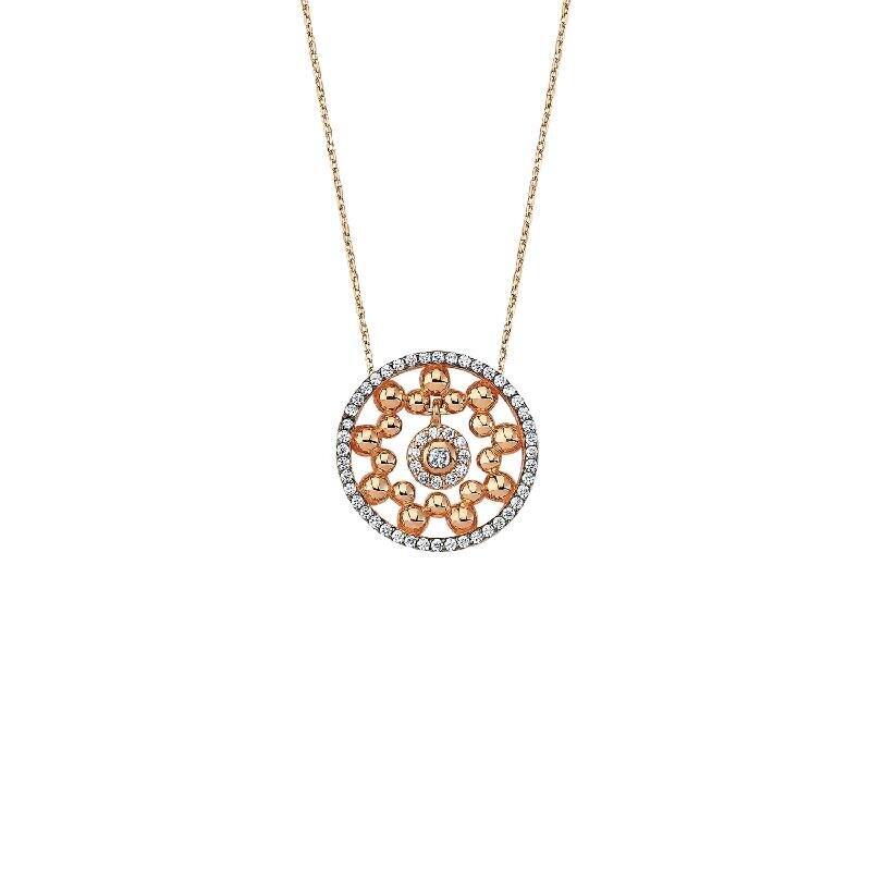 Snowflake Gold Necklace