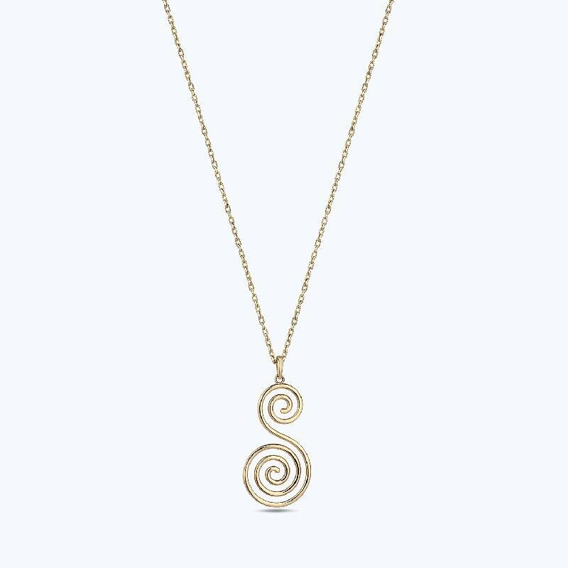 Reflection Gold Necklace