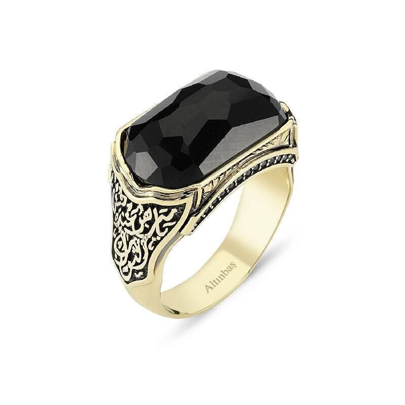 Altın Erkek Zırh Yüzüğü