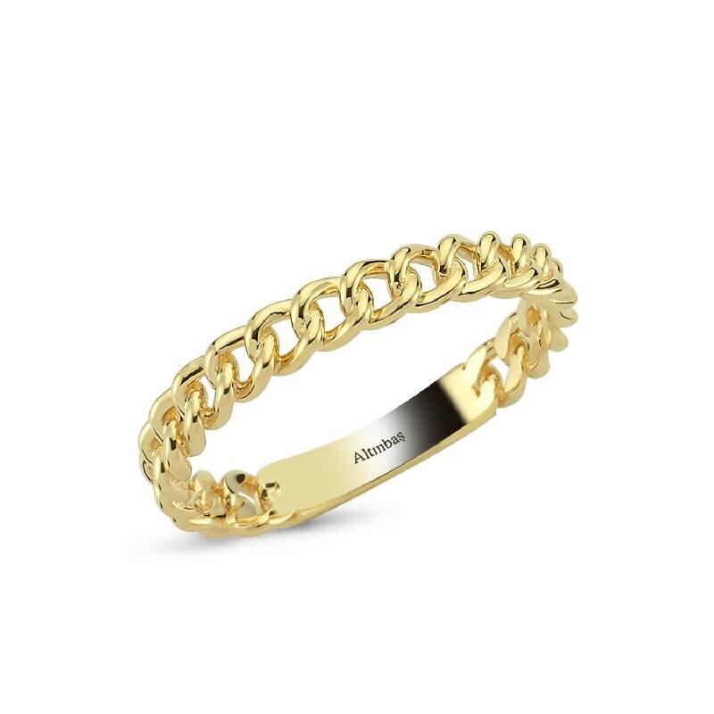 Altın Zincir Yüzük